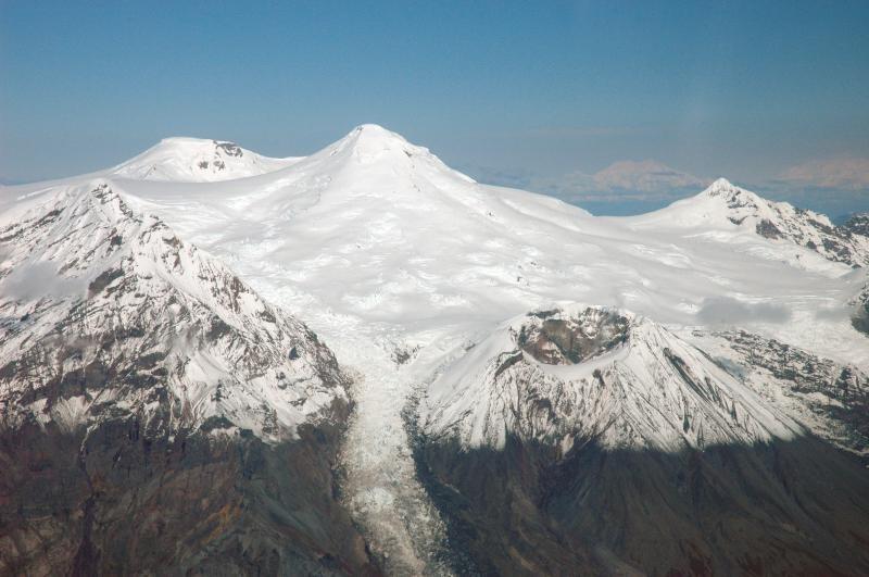 Вулкан Спурр, Аляска